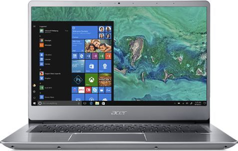 Ультрабук ACER Swift 3 SF314-54-87RS, 14, Intel Core i7 8550U 1.8ГГц, 8Гб, 256Гб SSD, Intel UHD Graphics 620, Windows 10, NX.GXZER.005, серебристыйНоутбуки<br>экран: 14;  разрешение экрана: 1920х1080; тип матрицы: IPS; процессор: Intel Core i7 8550U; частота: 1.8 ГГц (4.0 ГГц, в режиме Turbo); память: 8192 Мб, DDR4; SSD: 256 Гб; Intel UHD Graphics 620; WiFi;  Bluetooth; HDMI; WEB-камера; Windows 10<br><br>Линейка: Swift 3