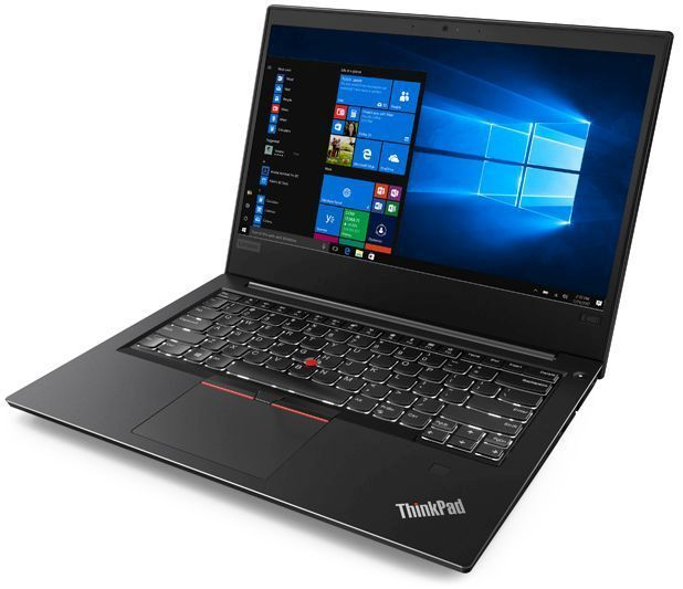 """Ноутбук LENOVO ThinkPad E480, 14"""",  IPS, Intel  Core i3  8130U 2.2ГГц, 4Гб, 1000Гб,  Intel UHD Graphics  620, Windows 10 Professional, 20KN0078RT,  черный"""