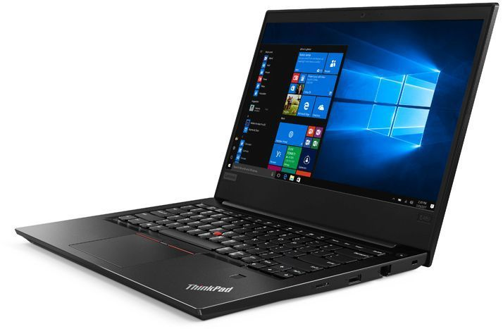 "Ноутбук LENOVO ThinkPad E480, 14"",  IPS, Intel  Core i7  8550U 1.8ГГц, 8Гб, 256Гб SSD,  AMD Radeon  RX550 - 2048 Мб, Windows 10 Professional, 20KN001NRT,  черный"