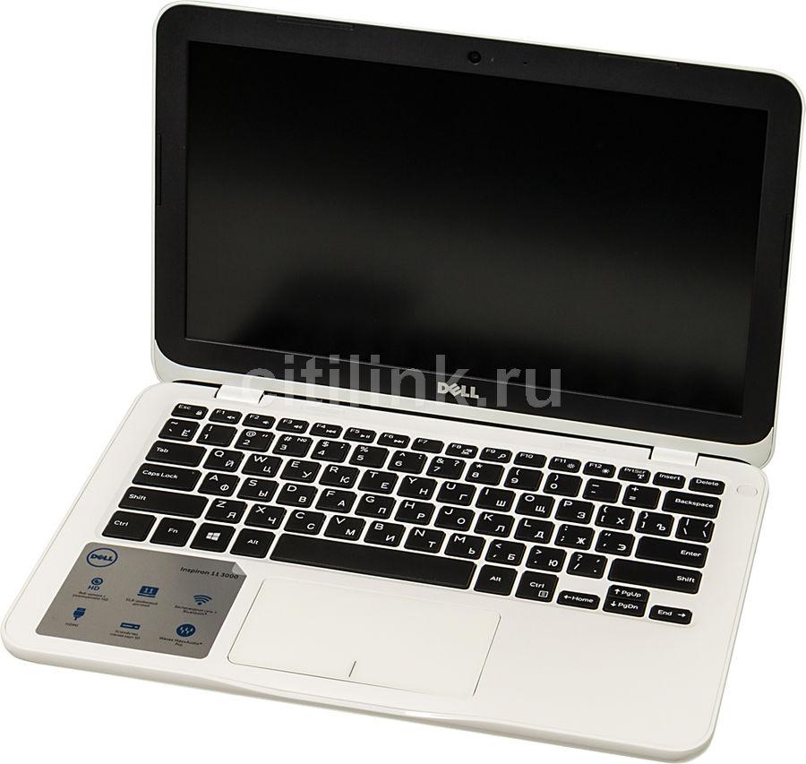 "Ноутбук DELL Inspiron 3180, 11.6"",  AMD  A9  9420e 1.8ГГц, 4Гб, 128Гб eMMC,  AMD Radeon  R5, Linux, 3180-7543,  белый"