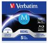 Оптический диск BD-R XL VERBATIM 100Гб 4x, 5шт., M-Disc, paper box [43834] вид 1