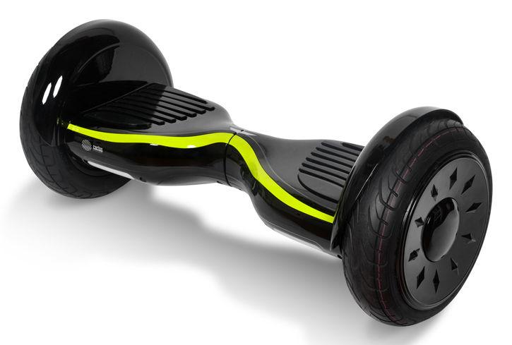 "Гироскутер CACTUS CS-GYROCYCLE_SUV2_BK/YL,  10.5"",  черный/желтый"