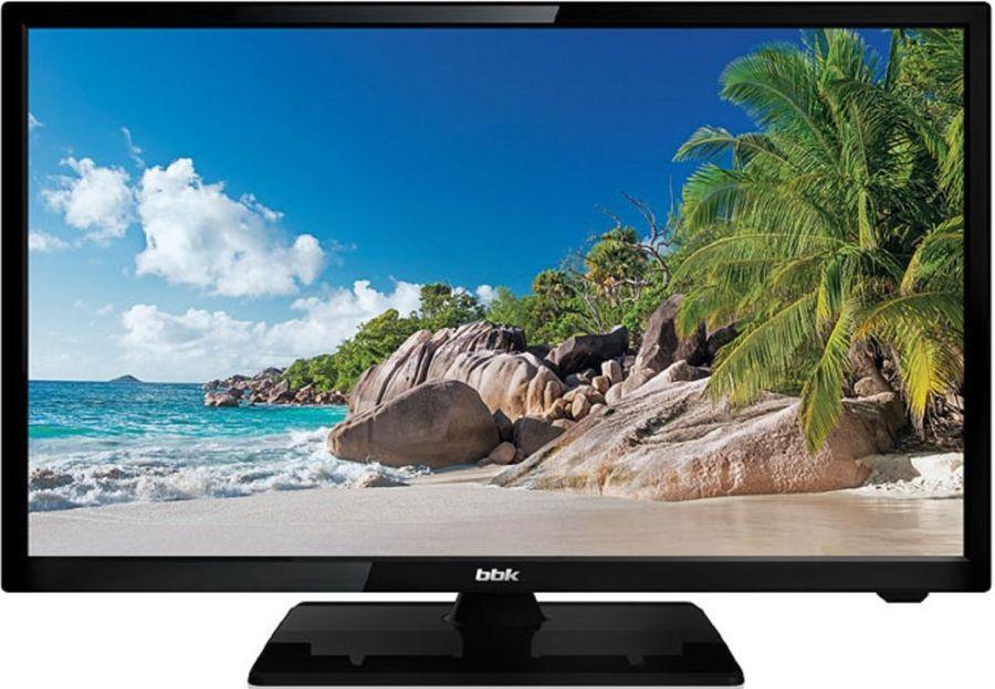 """LED телевизор BBK 24LEM-1026/FT2C  """"R"""", 24"""", FULL HD (1080p),  черный"""