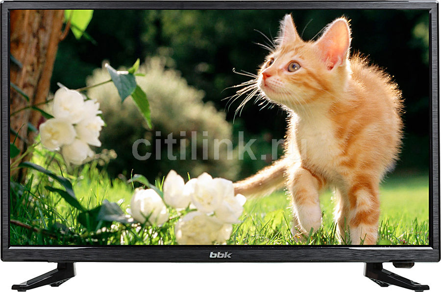 LED телевизор BBK 24LEM-1027/FT2C R, 24, FULL HD (1080p), черный kenwood kenwood kfc ps3016w