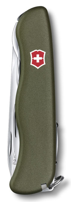 Складной нож VICTORINOX Picknicker, 11 функций,  111мм, зеленый  [0.8353.4r]