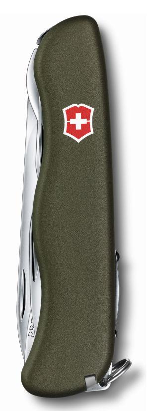 Складной нож VICTORINOX Outrider, 14 функций,  111мм, зеленый  [0.8513.4r]