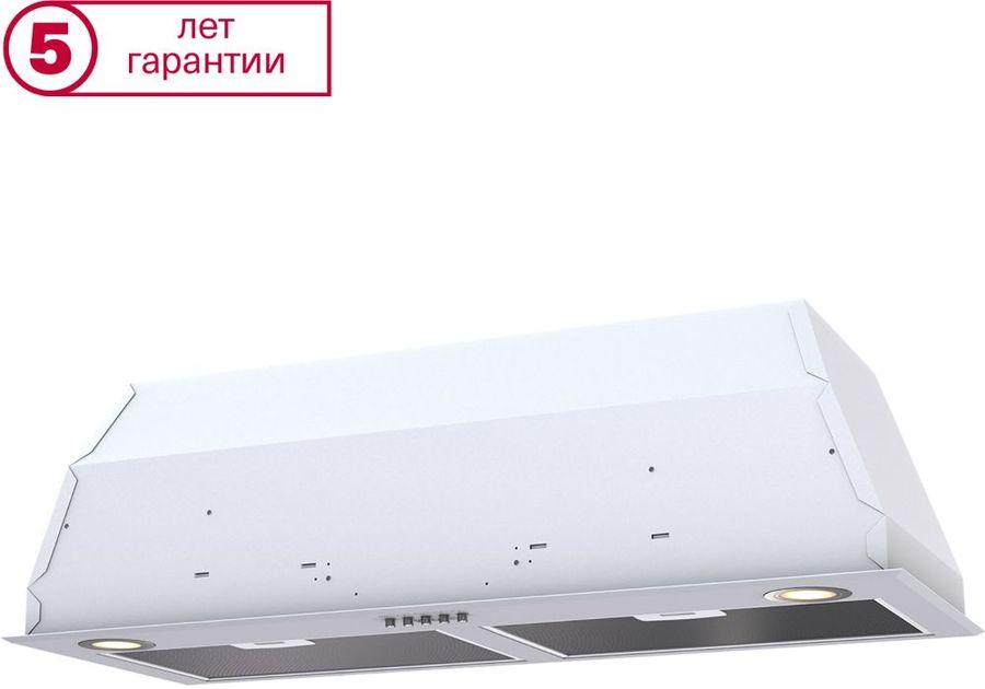 Вытяжка встраиваемая Krona Ameli 900 PB белый управление: кнопочное (1 мотор)