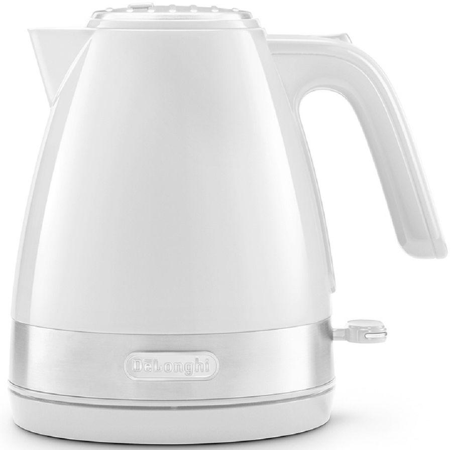 Чайник электрический DELONGHI KBLA 2000.W, 2000Вт, белый