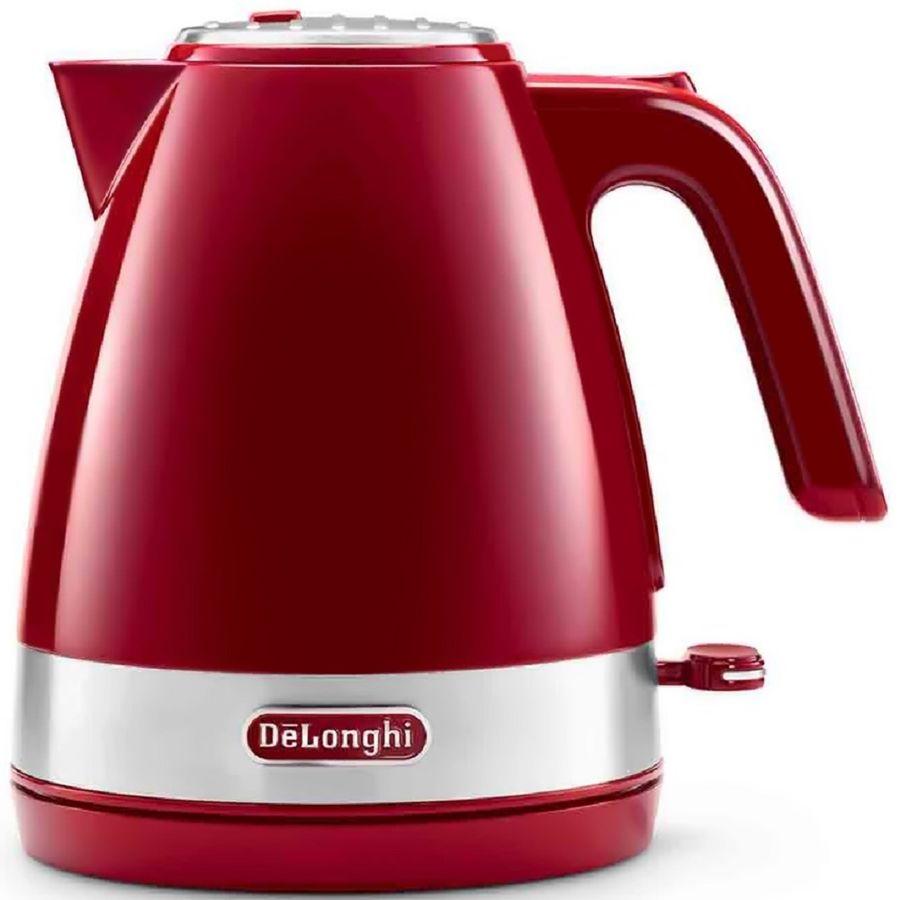 Чайник электрический DELONGHI KBLA 2000.R, 2000Вт, красный
