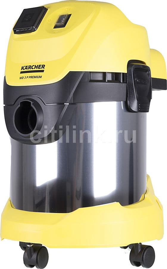 Строительный пылесос KARCHER WD3 P Premium EU-I желтый [16298910]