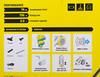 Пылесос KARCHER VC 3, 700Вт, желтый/черный вид 15