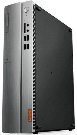 Компьютер  LENOVO IdeaCentre 310S-08ASR,  AMD  A6  9230,  DDR4 4Гб, 1000Гб,  AMD Radeon R4,  DVD-RW,  CR,  Free DOS,  черный и серебристый [90g9000prs]