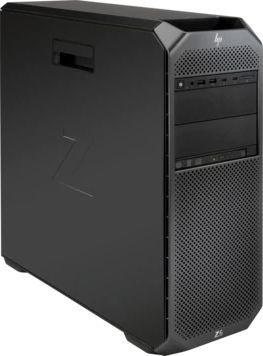 Рабочая станция  HP Z6 G4,  Intel  Xeon Bronze  3104,  DDR4 16Гб, 256Гб(SSD),  DVD-RW,  Windows 10 Professional,  черный [2wu43ea]