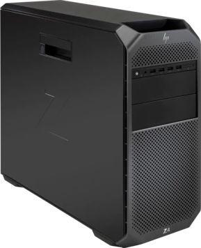 Рабочая станция  HP Z4 G4,  Intel  Xeon  W-2123,  DDR4 16Гб, 1000Гб,  DVD-RW,  CR,  Windows 10 Professional,  черный [2wu64ea]
