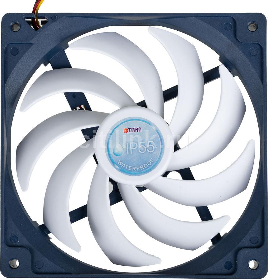 Вентилятор TITAN TFD-14025H12B/KW(RB),  140мм, Ret