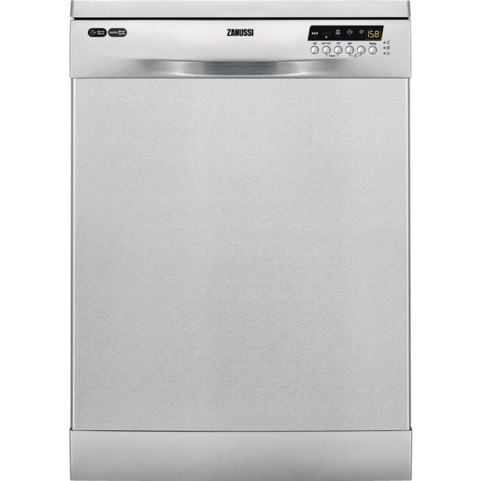 Посудомоечная машина ZANUSSI ZDF26004XA,  полноразмерная, серебристая