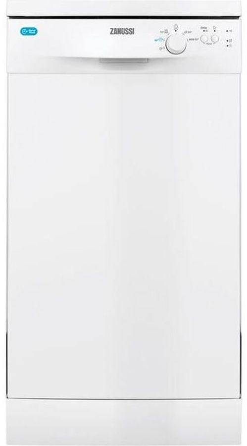 Посудомоечная машина ZANUSSI ZDS12002WA,  узкая, белая