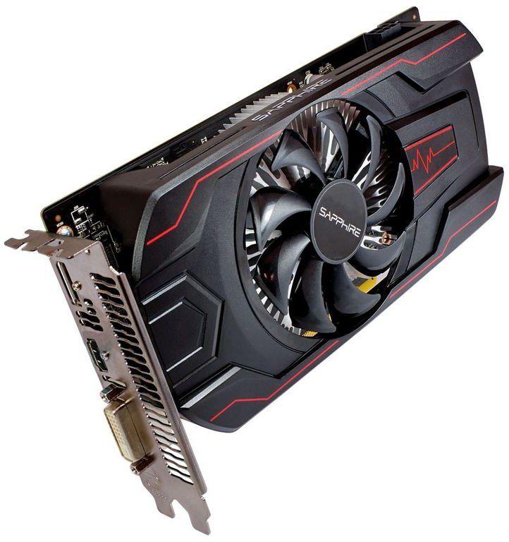 Видеокарта SAPPHIRE AMD  Radeon RX 560  (14CU),  11267-22-20G PULSE RX 560 OC (UEFI),  2Гб, GDDR5, OC,  Ret