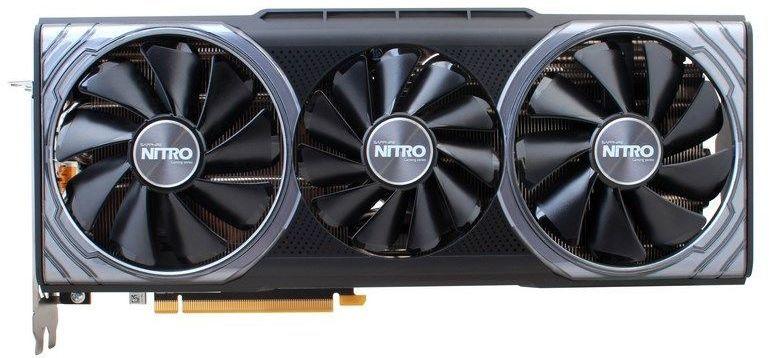 Видеокарта SAPPHIRE AMD  Radeon RX Vega 64 ,  11275-03-40G VEGA 64 8G NITRO+,  8Гб, HBM2, Ret