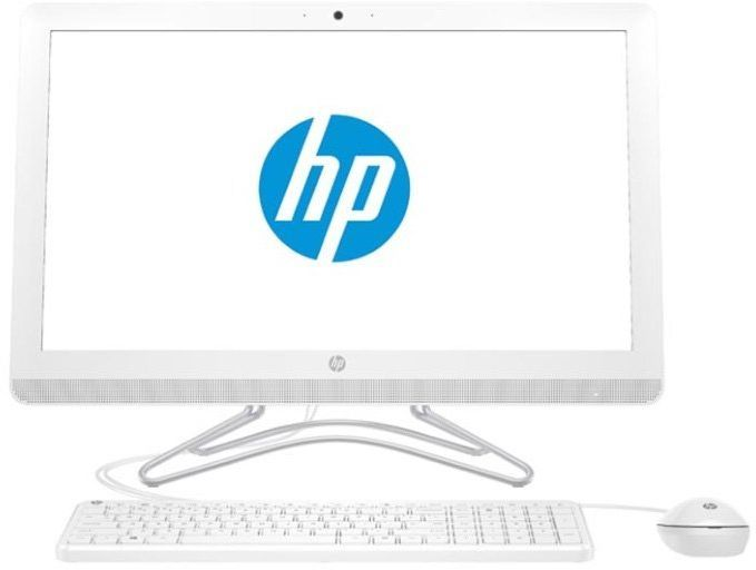 "Моноблок HP 200 G3, 21.5"", Intel Core i5 8250U, 4Гб, 1000Гб, 128Гб SSD,  Intel UHD Graphics 620, DVD-RW, Free DOS, белый [3va55ea]"