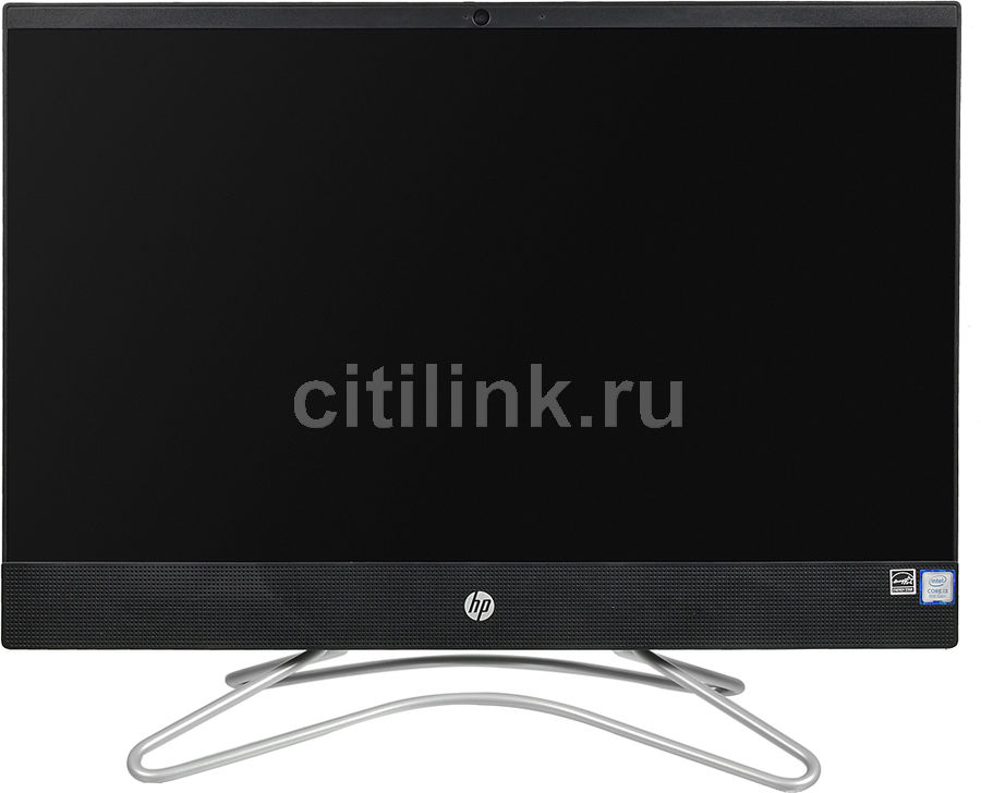 Моноблок HP 200 G3, 21.5, Intel Core i3 8130U, 4Гб, 1000Гб, 128Гб SSD, Intel UHD Graphics 620, DVD-RW, Windows 10 Home, черный [3zd40ea] моноблок hp 200 g3 intel core i3 8130u 4гб 256гб ssd intel uhd graphics 620 dvd rw windows 10 home белый [3zd35ea]