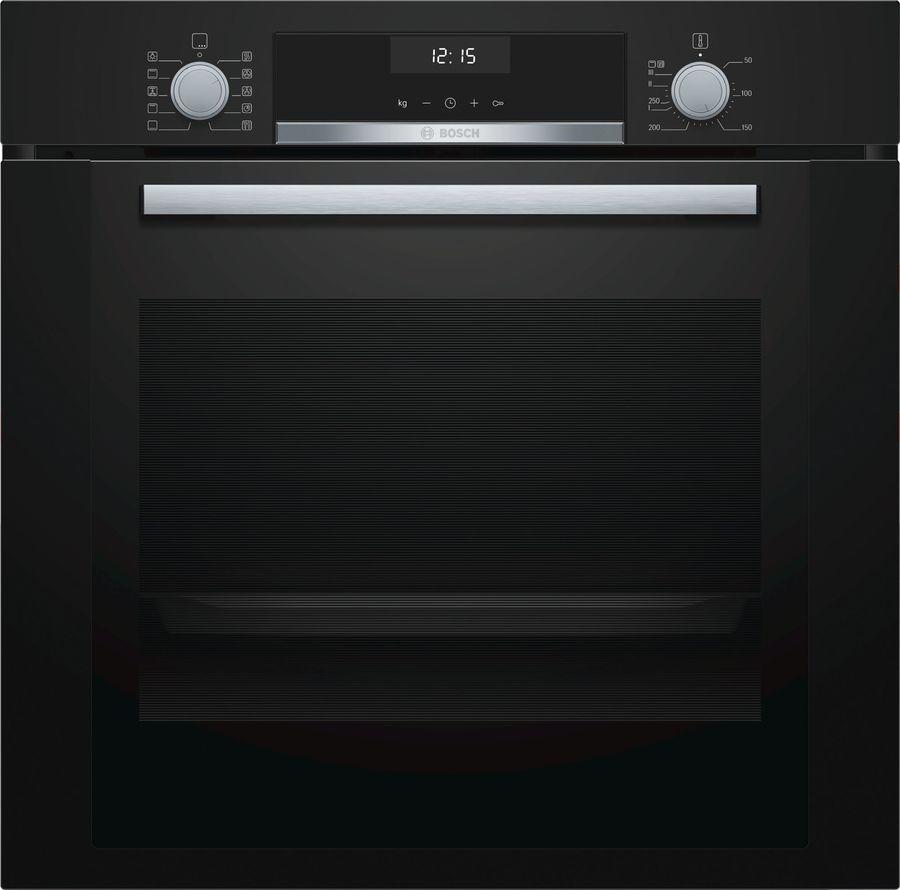 Духовой шкаф BOSCH HBA337BB0R,  черный