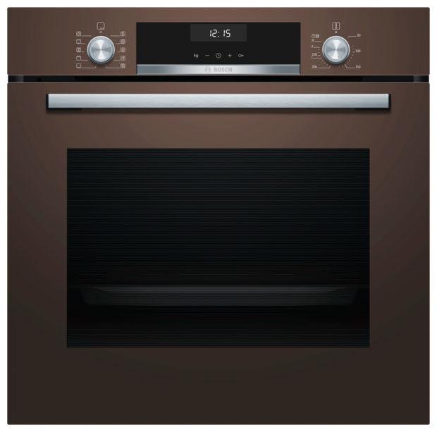 Духовой шкаф BOSCH HBA537BM0R,  коричневый