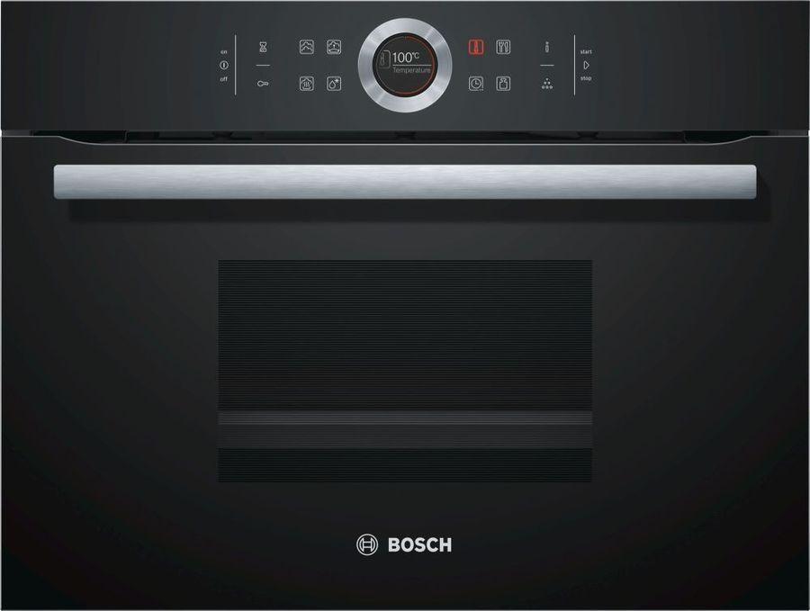 Пароварка Bosch CDG634BB1 1750Вт черный