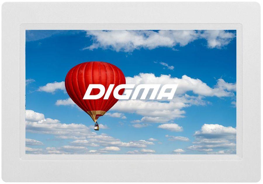 """Цифровая фоторамка DIGMA PF-902,  9"""", белый [pf902w]"""