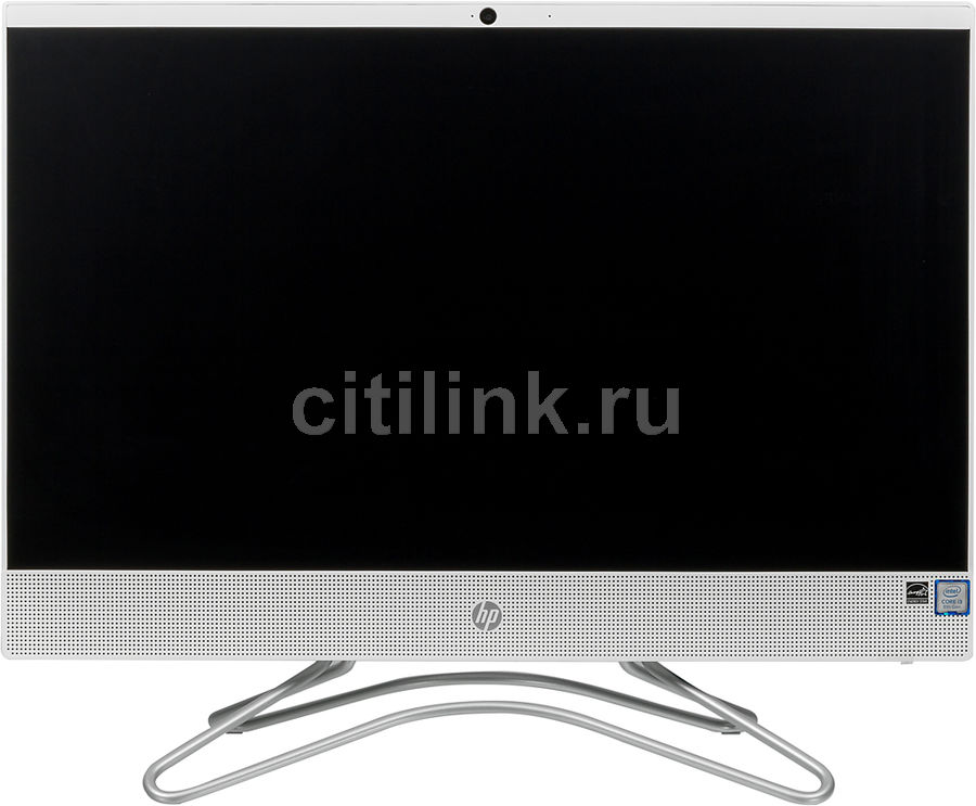 "Моноблок HP 200 G3, 21.5"", Intel Core i3 8130U, 4Гб, 1000Гб, Intel UHD Graphics 620, DVD-RW, Windows 10 Professional, белый [3va39ea]"