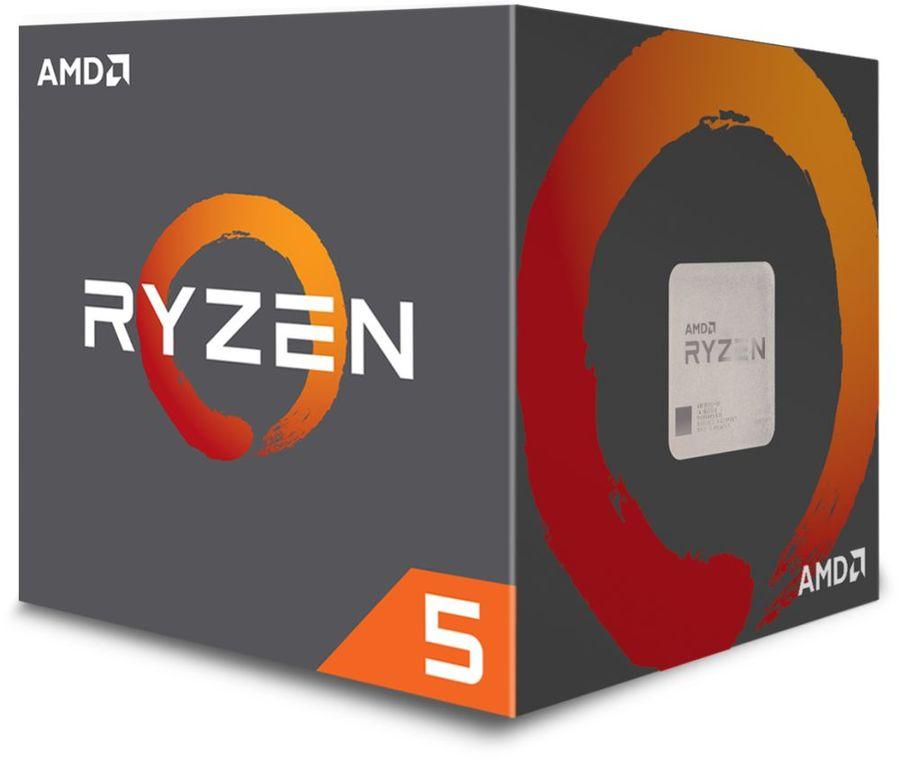 Процессор AMD Ryzen 5 2600, SocketAM4,  BOX [yd2600bbafbox]