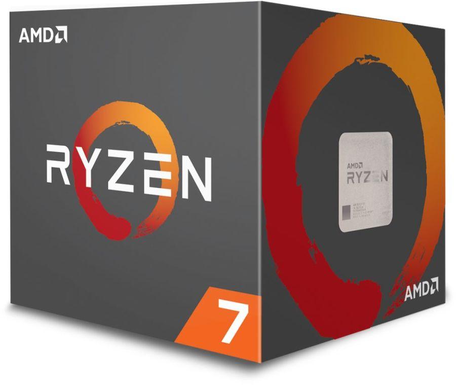 Процессор AMD Ryzen 7 2700, SocketAM4,  BOX [yd2700bbafbox]