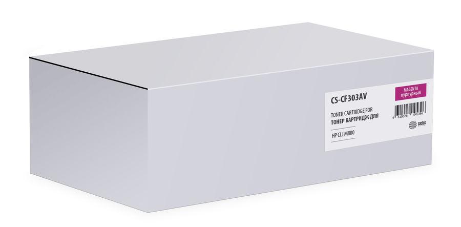 Картридж CACTUS CS-CF303AV, пурпурный