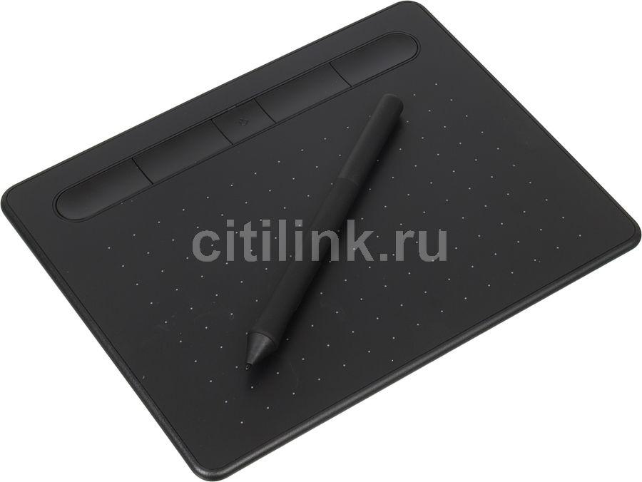 Графический планшет WACOM Intuos S Bluetooth CTL-4100WLK-N А6 черный