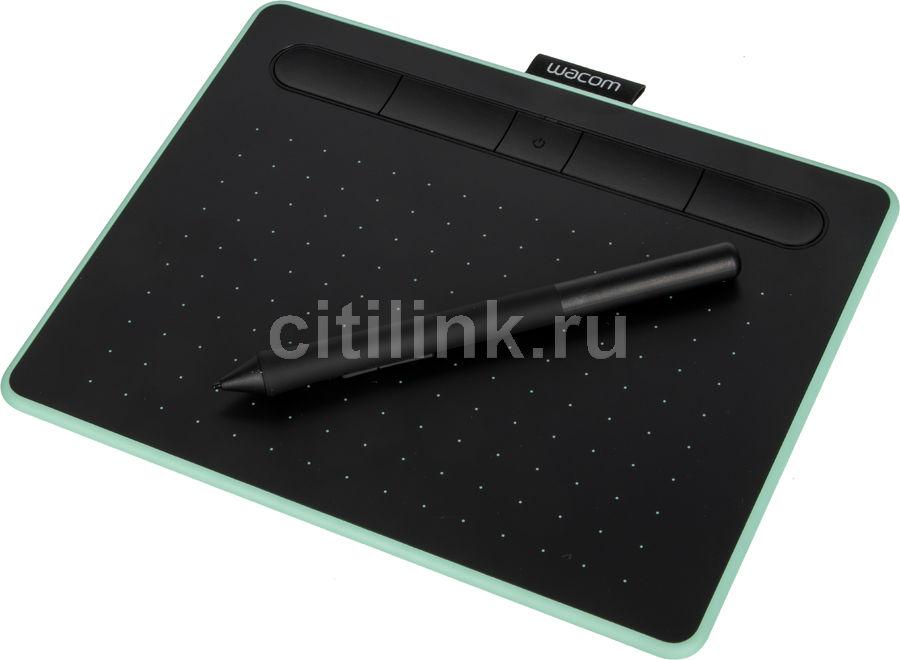 Графический планшет WACOM Intuos CTL-4100WLE-N А6 фисташковый