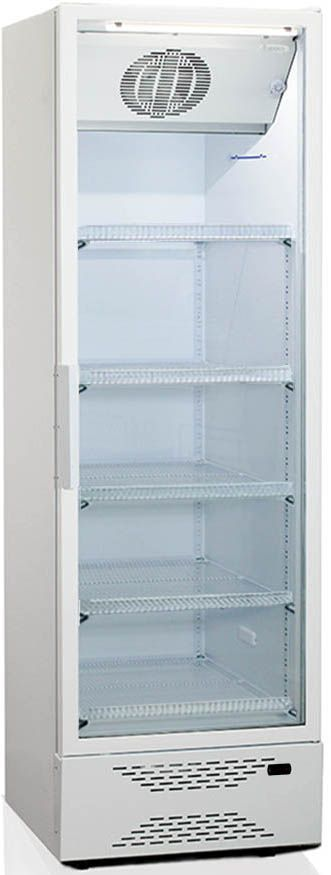 Холодильная витрина БИРЮСА Б-520DN,  однокамерный, белый