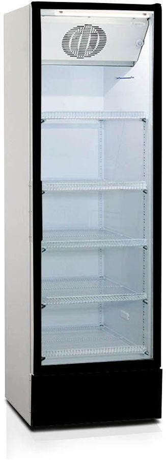 Холодильная витрина БИРЮСА Б-B520DN,  однокамерный, черный