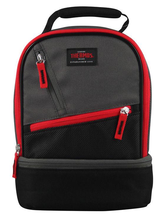 Сумка-термос Thermos Berkley Dual Lunch 539366 4.5л. черный/красный
