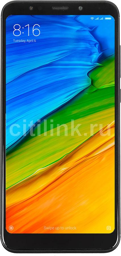 Смартфон XIAOMI Redmi 5 Plus 32Gb,  черный