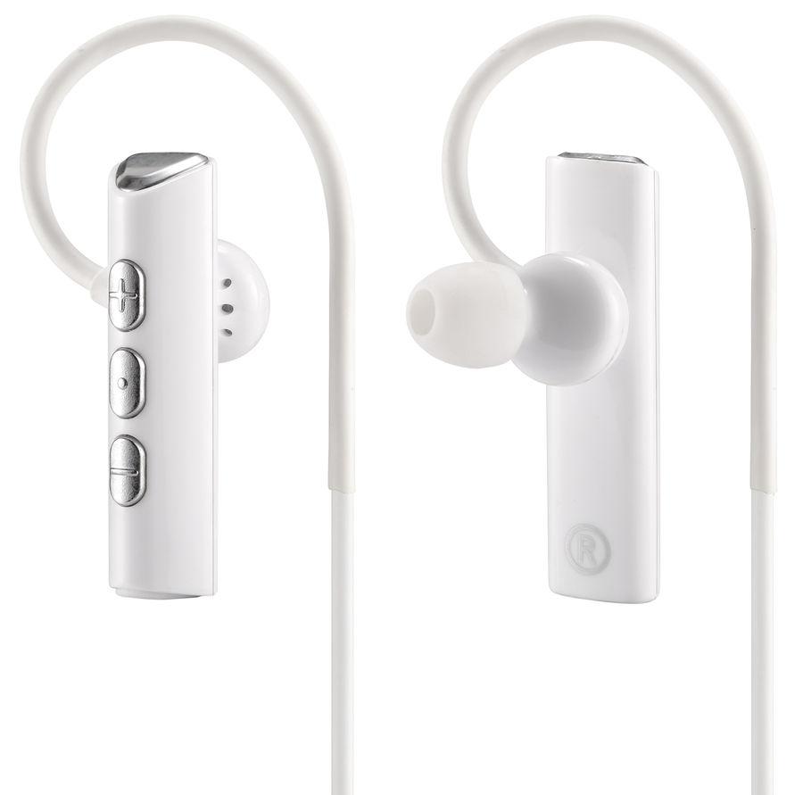 Наушники с микрофоном DIGMA BT-01, Bluetooth, вкладыши, белый [e703bt white]