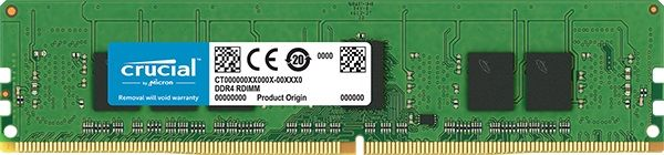 Память DDR4 Crucial CT4G4RFS824A 4Gb RDIMM ECC Reg 2400MHz