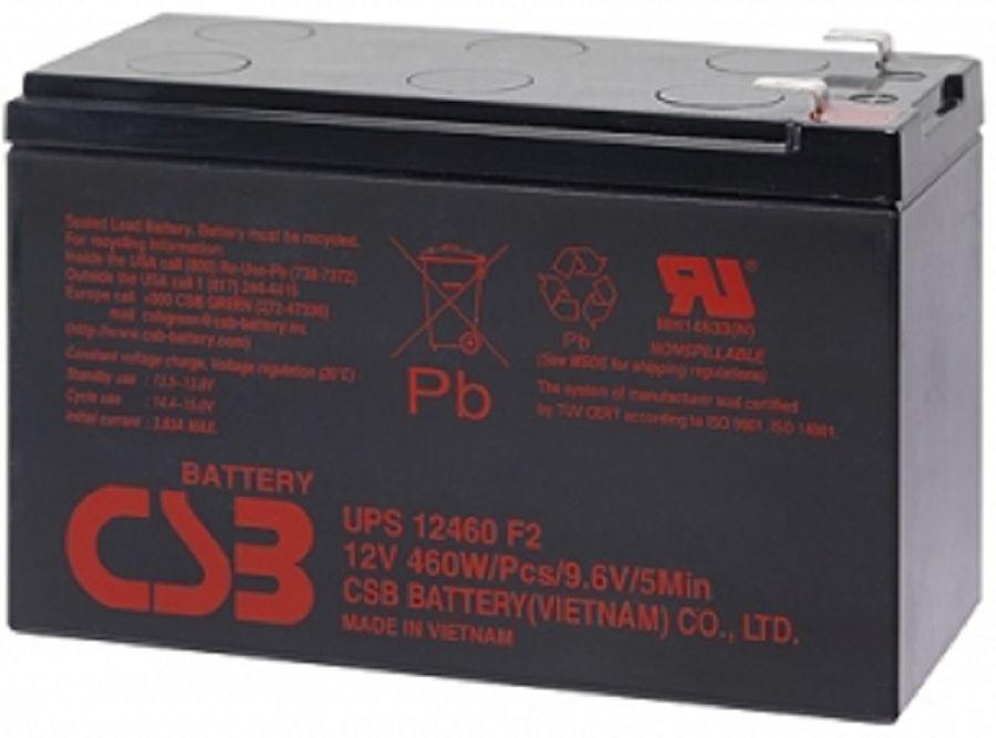 Батарея для ИБП CSB UPS12460  12В,  9Ач
