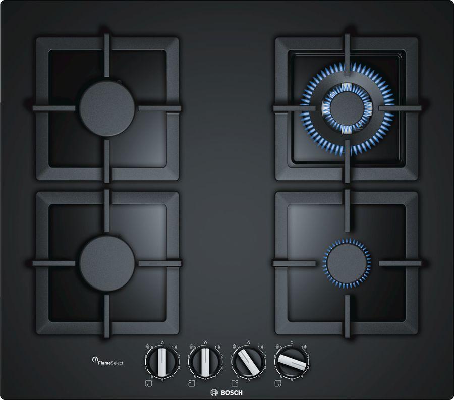 Варочная панель BOSCH PPH6A6B20R,  независимая,  черный