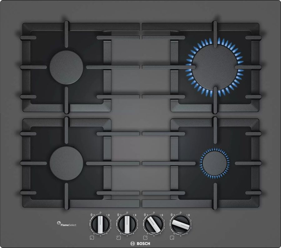 Варочная панель BOSCH PPP6A9B90R,  независимая,  черный