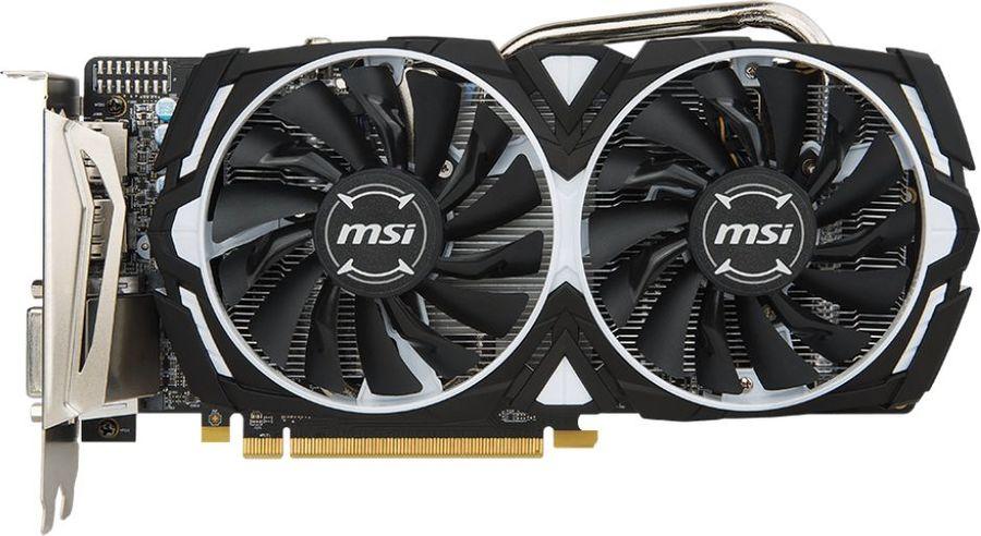 Видеокарта MSI AMD  Radeon RX 570 ,  Radeon RX 570 ARMOR 8G,  8Гб, GDDR5, Ret