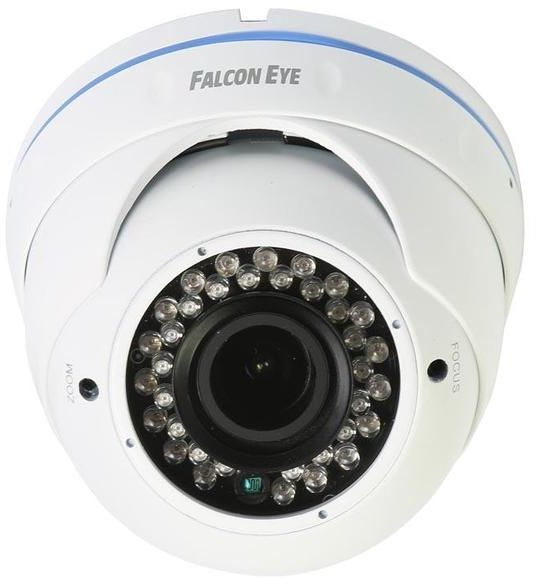 Видеокамера IP FALCON EYE FE-IPC-DL202PV,  1080p,  2.8 - 12 мм,  белый