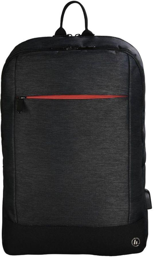 """Рюкзак 15.6"""" HAMA Manchester, черный [00101825]"""