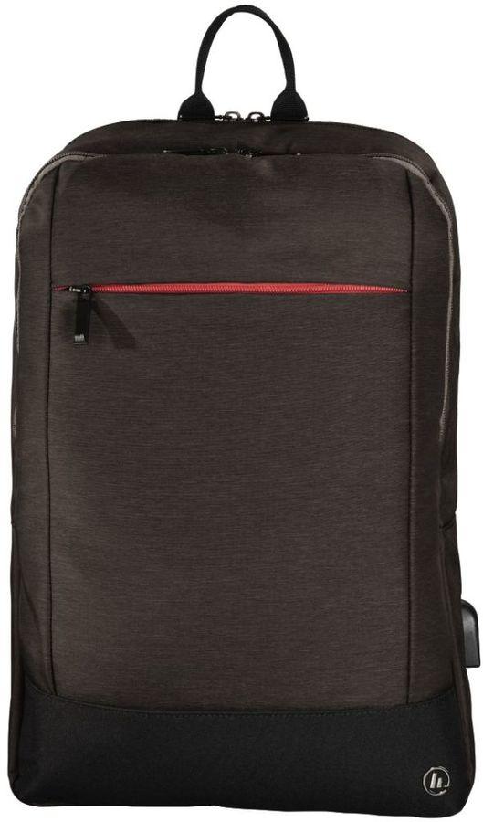 """Рюкзак 15.6"""" HAMA Manchester, коричневый [00101827]"""