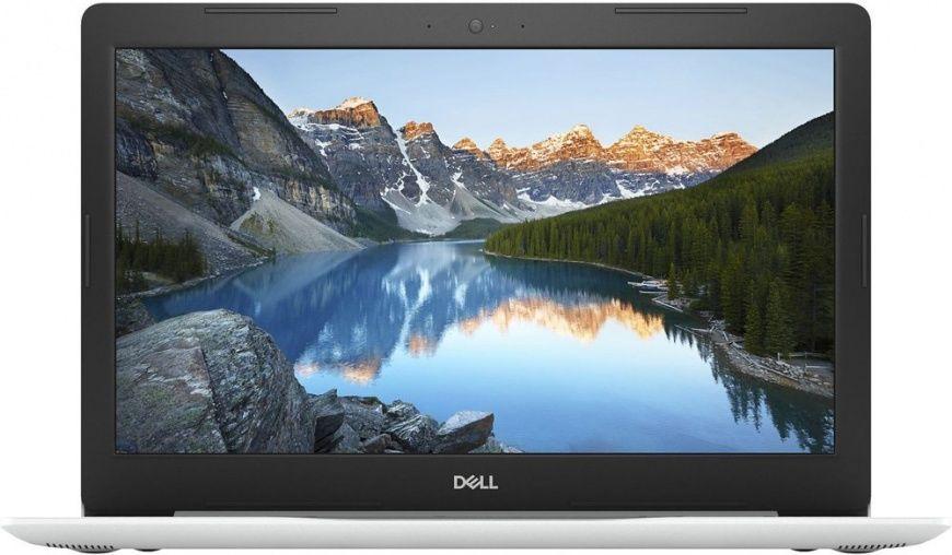 "Ноутбук DELL Inspiron 5570, 15.6"",  Intel  Core i5  8250U 1.6ГГц, 4Гб, 1000Гб,  AMD Radeon  530 - 2048 Мб, DVD-RW, Windows 10 Home, 5570-7857,  белый"