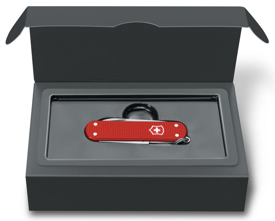Складной нож VICTORINOX Alox Classic, 5 функций,  58мм, красный  [0.6221.l18]